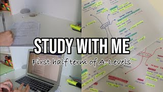 STUDY WITH ME: HOMEWORK DAY (A LEVELS) FT. PDF ELEMENT