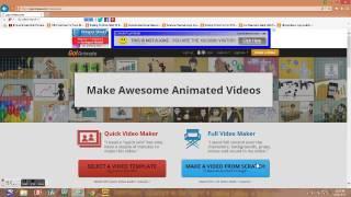 Repeat youtube video GoAnimate's Full Video Maker