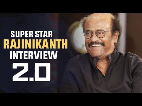Super Star Rajinikanth Interview about Robot 2.0 Movie | NVR Cinema