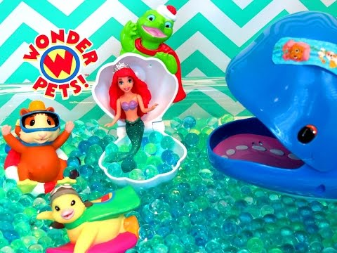 THE WONDER PETS GREAT WHALE RESCUE ORBEEZ | itsplaytime612