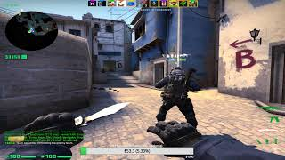 CSGO Gramy na PRO PLAYERKI de_mirage[MIX#151]