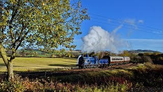 A Caledonian Reunion - 828 & 419 on the Bo'ness & Kinneil Railway