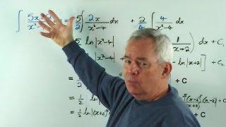 Jim Coroneos' 100 Integrals ~ 003 ~ ∫(5x+2)/(x²-4).dx