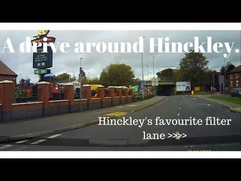 [TIME LAPSE DRIVING] A drive round Hinckley. 20/10/17.