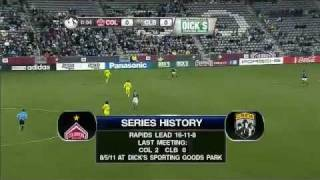 Columbus Crew @ Colorado Rapids - 27/10/11 - [2011 MLS Cup Playoffs - Wild Card]