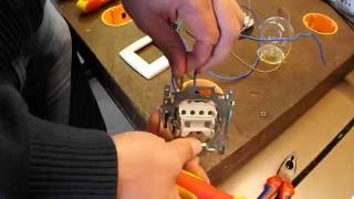 lichtschakelaar monteren en demonteren