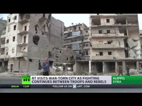 Aleppo reduced to rubble amid battle to recapture rebel-held areas
