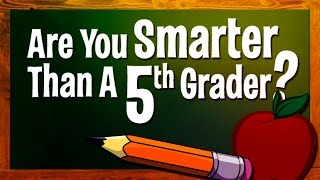 are you smarter than a 5th grader first graders know french
