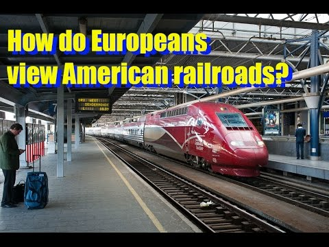 A European Perspective on America's Rail Transportation - Ruben van Miegroet