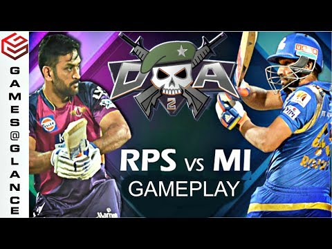 DA2 MiniMilitia IPL Version (MUMBAI vs PUNE) Dramatic Gameplay