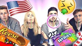 EKLIGE Süßigkeiten TESTEN! mit Marcel, ViscaBarca & Aimbrot | Sonny Loops