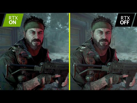 Call of Duty Black Ops Cold War Ray Tracing On vs OFF RTX 3080 4K Graphics Comparison