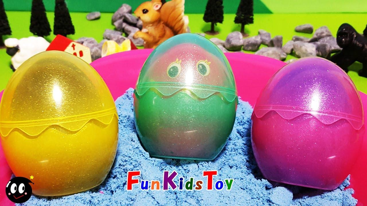 papa troll surprise eggs my little pony kineric sand surprise toys