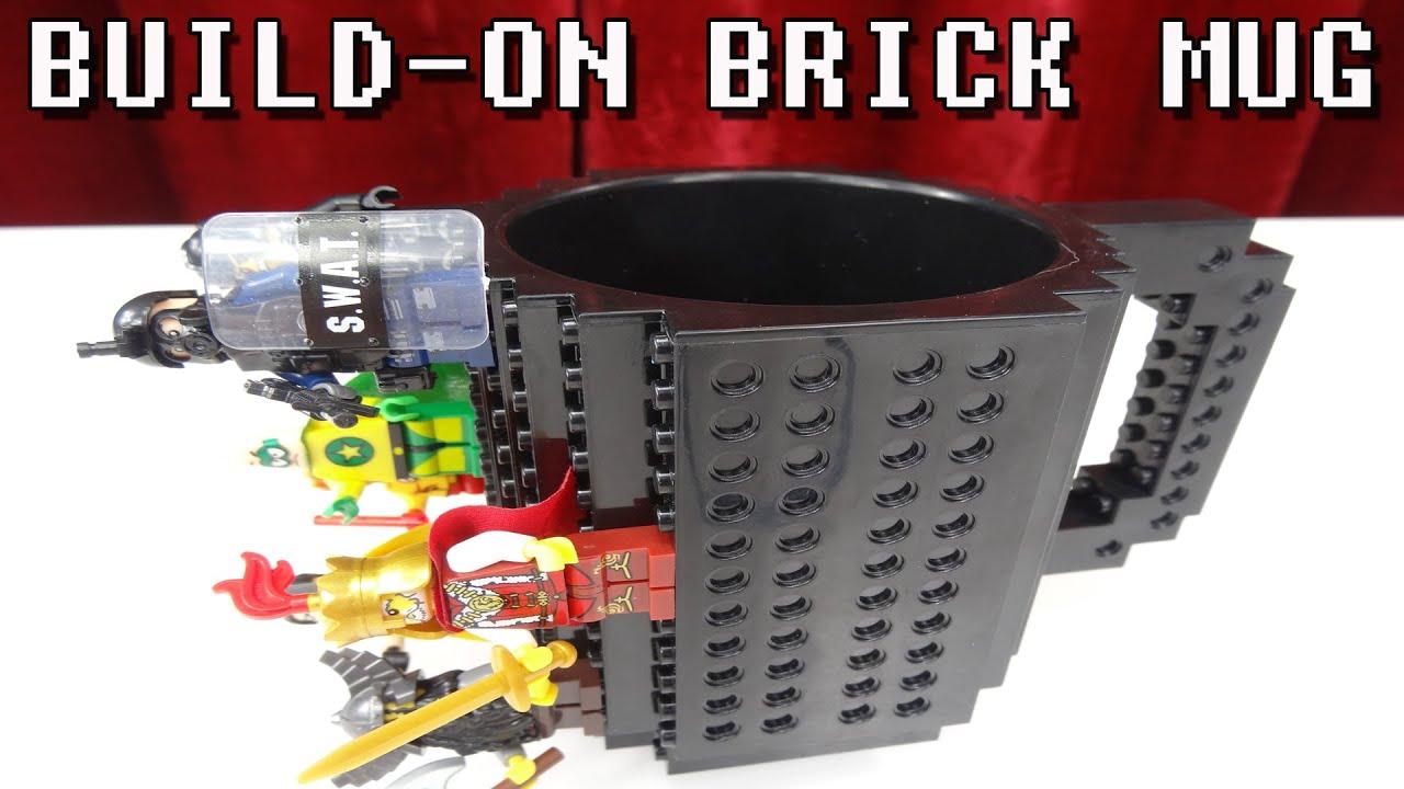 BUILD ON BRICK MUG / TASSE\