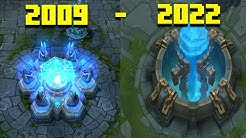 Evolution of League of legends 2009 - 2020 ( From Beta ) Full HD