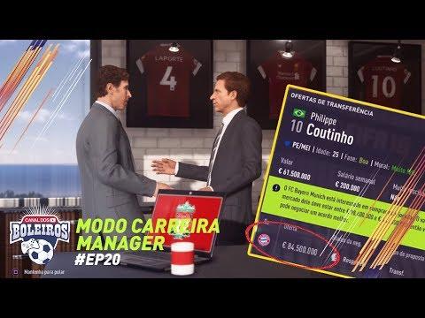 FIFA 18 | MODO CARREIRA #20 - UMA FORTUNA POR COUTINHO E NEGOCIAÇÕES!!