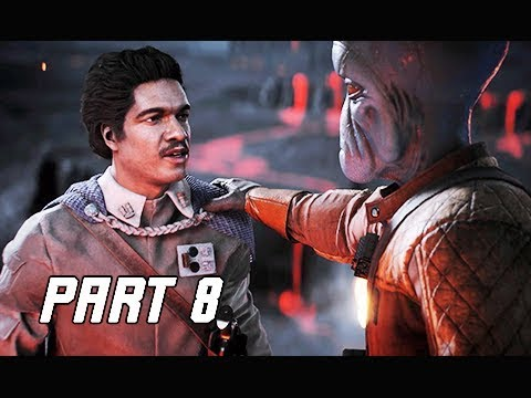 STAR WARS BATTLEFRONT 2 Walkthrough Part 8 - Lando Calrissian (PC Let's Play Commentary)