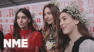 HAIM on women in music, the BRIT Awards, and 2018 tour plans