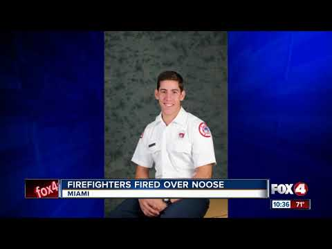 6 Florida firefighters fired for allegedly placing noose over black colleague's family photo