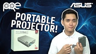 Asus Zenbeam E1 Portable LED Projector - Unboxing and Review [Filipino Language]
