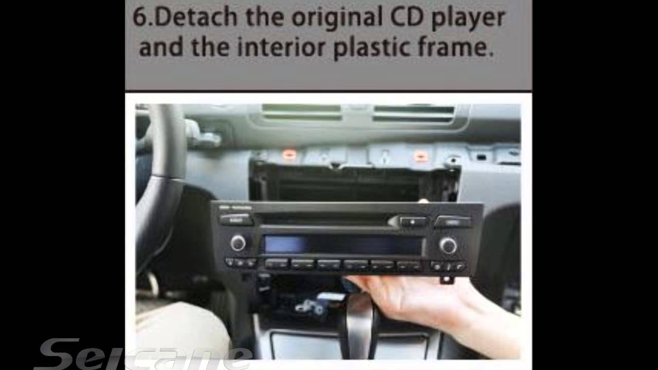 How to install upgrade car stereo for BMW 1 Series E81 E82 E87 120i with Android GPS DVD Player