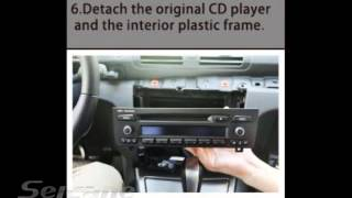 How to install upgrade car stereo for BMW 1 Series E81 E82 E87 120i with Android GPS DVD Player Ipod
