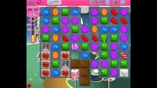 How to beat Candy Crush Saga Level 154 - 1 Stars - No Boosters - 35,762pts