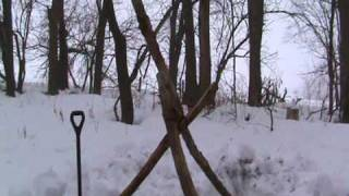 The Thermal A-Frame Winter Shelter