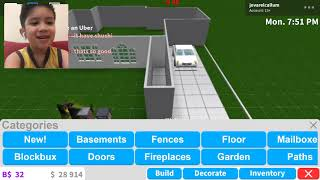 #GamingwithJovarelCallum - #Roblox: I STARTED BUILDING HOUSE - #Bloxburg