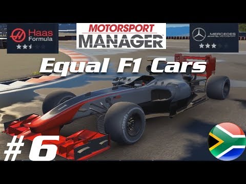 Motorsport Manager (PC) - 2017 Equal F1 Cars Championship - Part 6 - South Africa