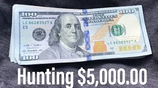 $5,000 00 Bank Note Hunt! Searching For Star Notes & Fancy Serial