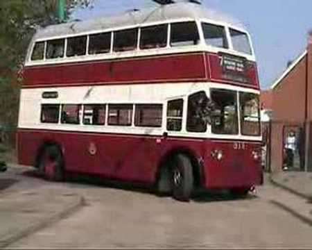 Launch of Portsmouth Trolleybus 313
