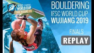 IFSC Climbing World Cup Wujiang 2019  Bouldering Finals