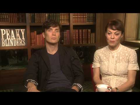 Bazaar s Cillian Murphy and Helen McCrory for Peaky Blinders 2