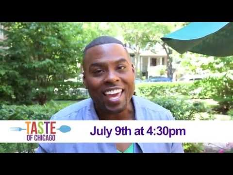 Taste of Chicago 2016 Cooking Demo - Chef Judson Todd Allen