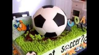 Спортивный торт