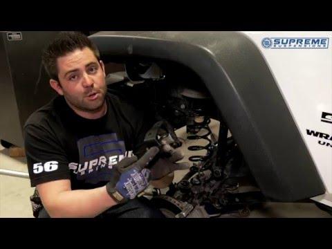 "3"" Lift Kit Front Installation | 2015 Jeep Wrangler"