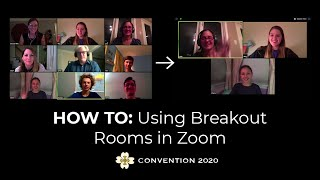 HOW TO: Using Breakout Rooms in Zoom