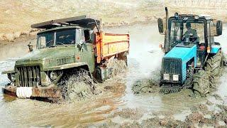 Урал и Трактор не могли пересечь Болото | Оффроуд 2020