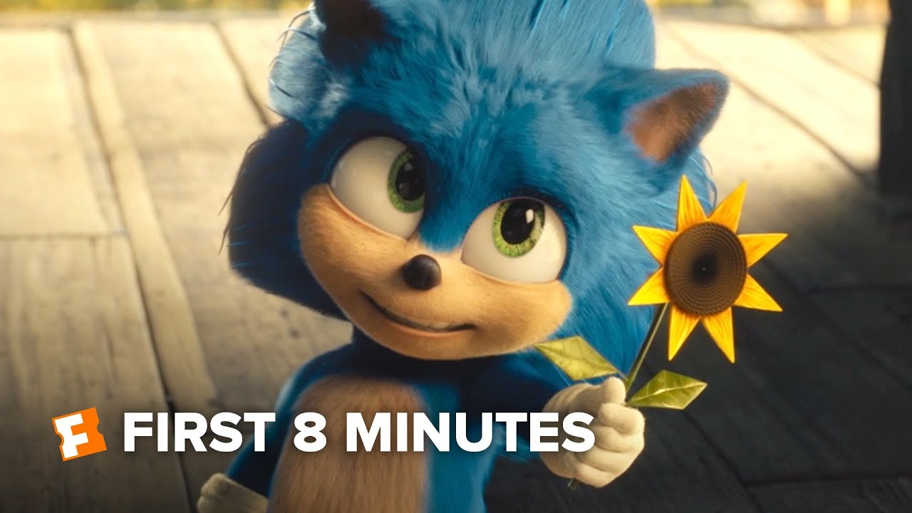 Download Sonic the Hedgehog Exclusive - First 8 Minutes (2020)   FandangoNOW Extras