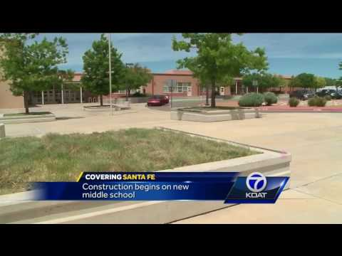 Construction underway for new Santa Fe Middle School