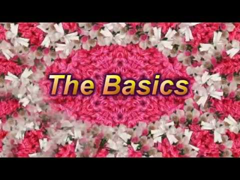 Learn to Crochet  Lesson 1 – The Basics – LEFT HANDED