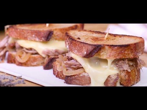 sandwich-d'effiloché-d'agneau-toasté