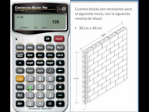 Ingenieria Civil C 225 Lculo Del N 250 Mero De Blocks Necesarios