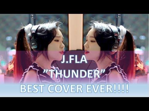 """Imagine Dragons """"Thunder"""" BEST COVER by J.Fla - Korean Youtube Sensation"""