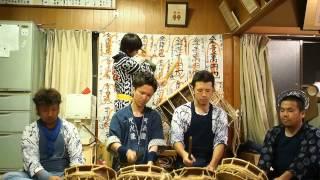 遠江二俣郷祭禮囃子 叉水連 馬鹿囃子/四丁目 Suwa-jinja Shrine Ritual