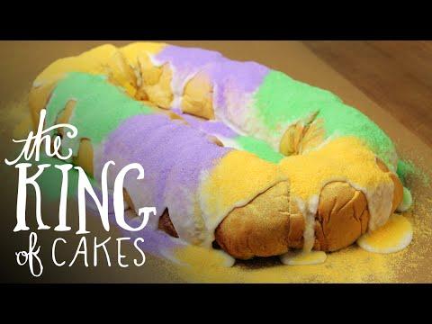 New Orleans' Legendary King Cake from Gambino's on Goldbely.com