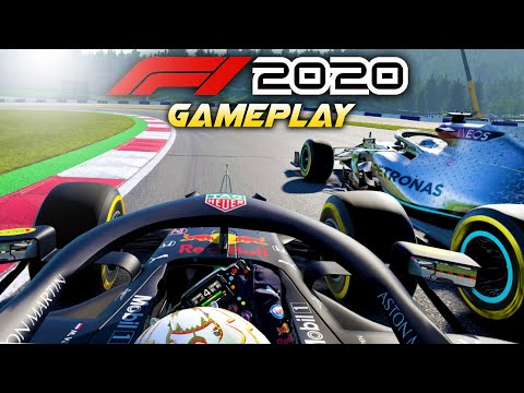 F1 2020 Gameplay! Race at AUSTRIA with Max Verstappen! (F1 2020 Game Red Bull)