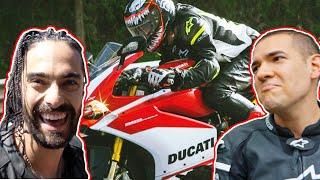 CAMBIÉ DE MOTO CON JUCA 😱 Ducati Panigale Corse 959