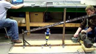 Electromagnetic Shock Absorber_high frequency test